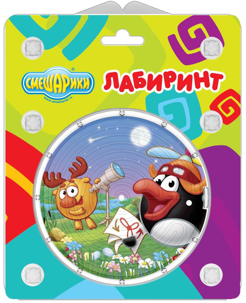 """Двухсторонний """"Лабиринт"""" Смешарики(Космические приключения ..."""